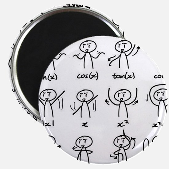 "Cute Mathematics 2.25"" Magnet (10 pack)"