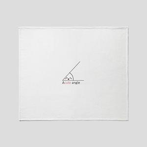 Acute Angle Throw Blanket