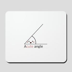 Acute Angle Mousepad