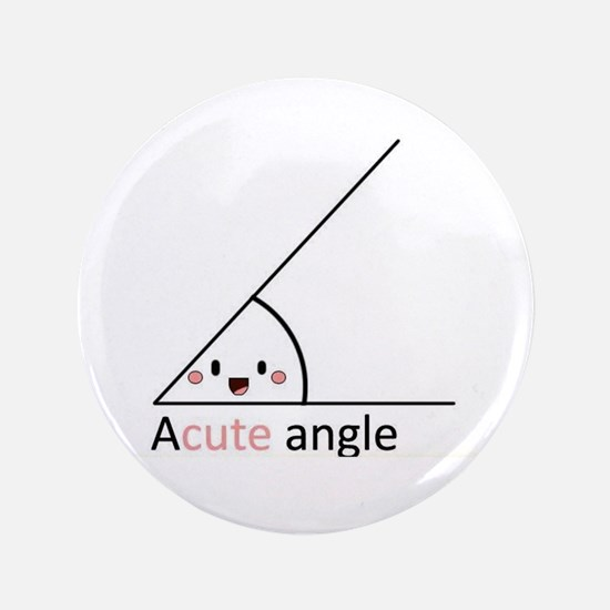 """Acute Angle 3.5"""" Button (100 pack)"""