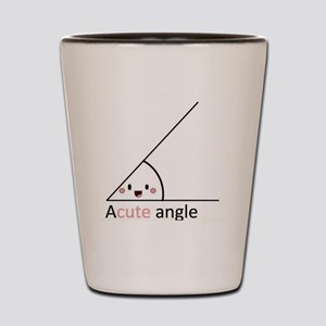 Acute Angle Shot Glass