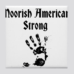 Moorish American Strong Tile Coaster