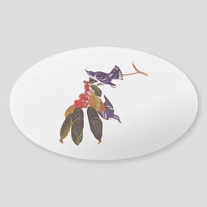 Cerulean Warbler Vintage Audubon Birds Sticker