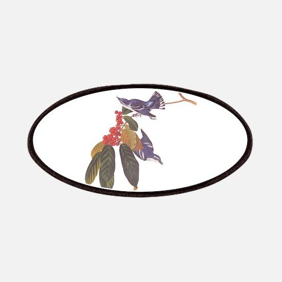 Cerulean Warbler Vintage Audubon Birds Patch