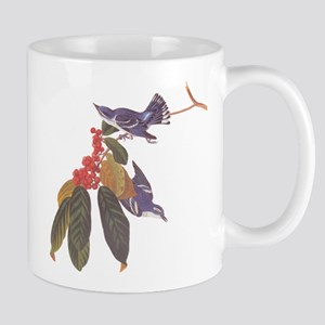 Cerulean Warbler Vintage Audubon Birds Mugs