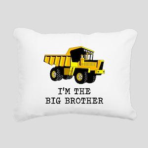 Im the Big Brother Dump Truck Rectangular Canvas P