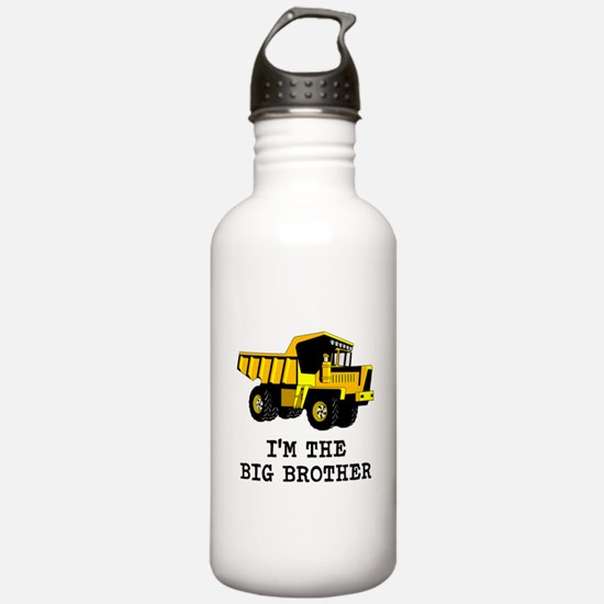 Im the Big Brother Dump Truck Water Bottle