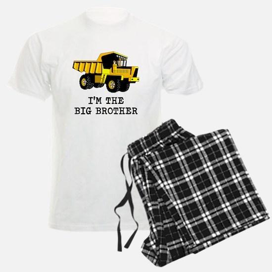 Im the Big Brother Dump Truck Pajamas