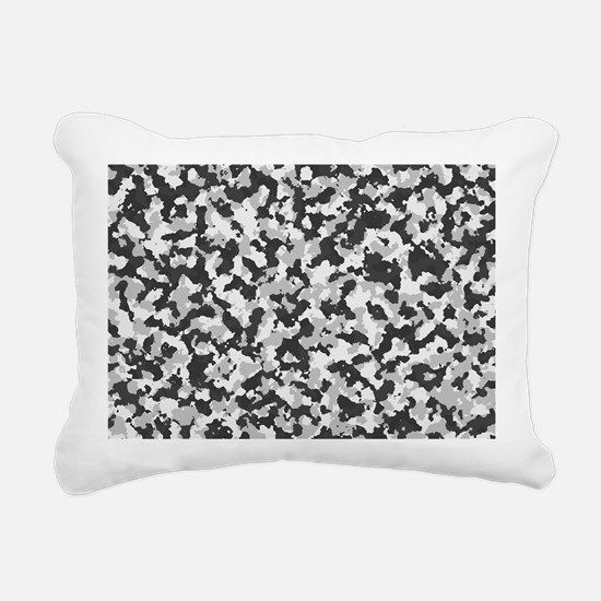 Cute Camouflage Rectangular Canvas Pillow