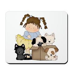 Puppy Dog Friends Mousepad