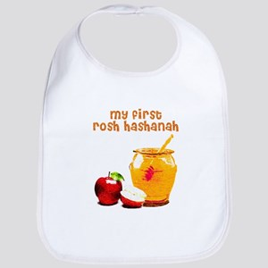 baby's first Rosh Hashanah Bib