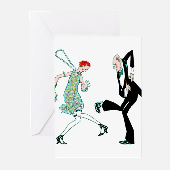 1920s Dance - Greeting Cards