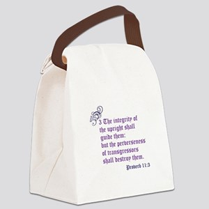 Integrity Canvas Lunch Bag