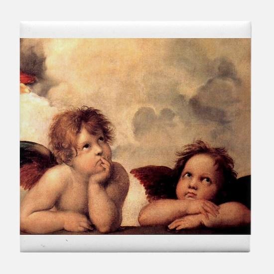 Cherubim - Raphael Tile Coaster