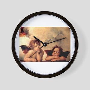 Cherubim - Raphael Wall Clock