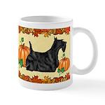 Scottish Terrier 'pumpkin Spice' Mugs