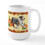 Australian Shepherd 'pumpkin Spice' Mugs