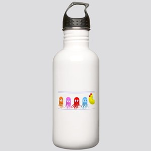 Ms. Pacman & her Squid Stainless Water Bottle 1.0L