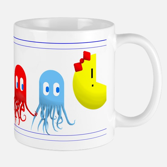 Ms. Pacman & her Squid Squad Mugs