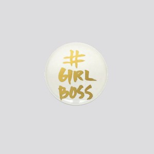 Girl Boss Mini Button