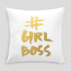 Girl Boss Everyday Pillow