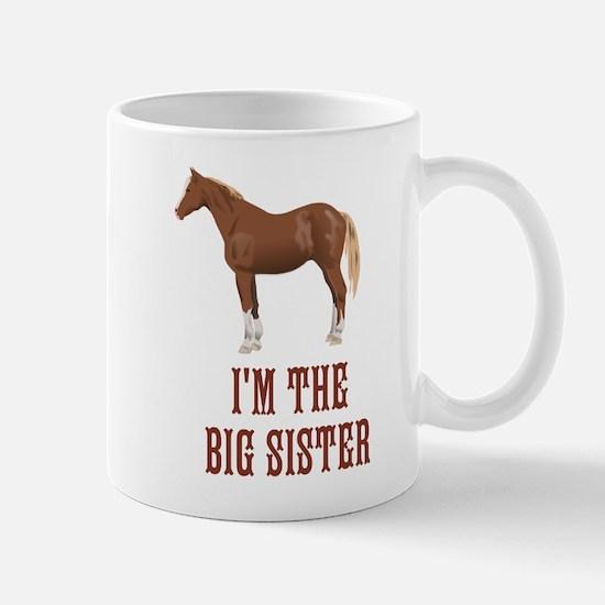 I'm the big sister horse design Mug