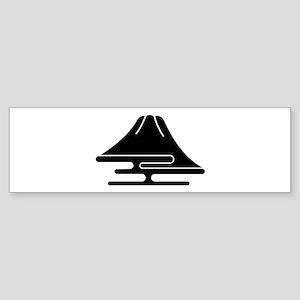 Mt.Fuji and haze Bumper Sticker