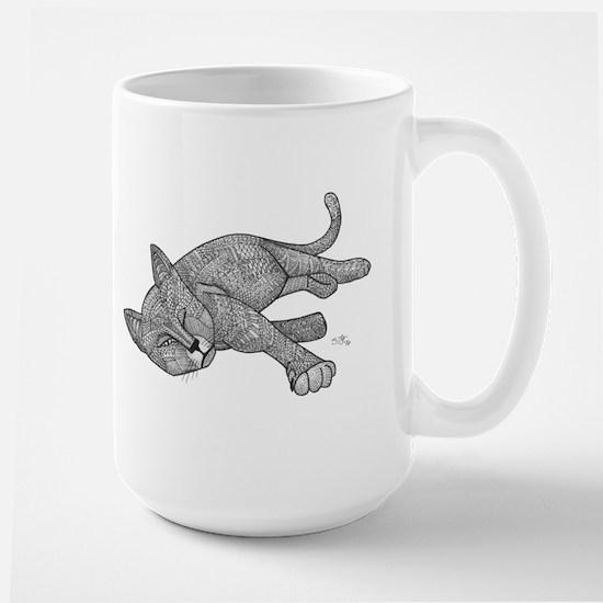 Winking Cat Mugs