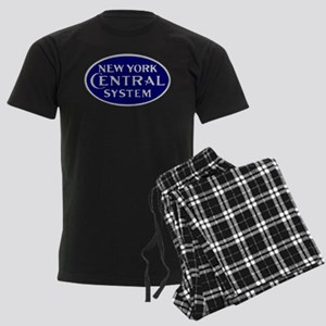 New York Central System logo - Men's Dark Pajamas