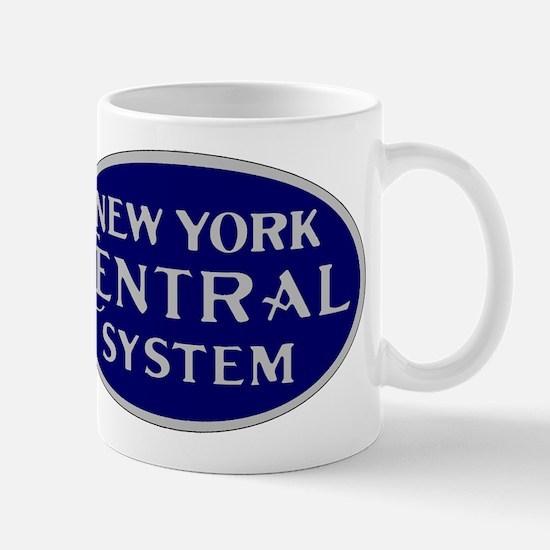 New York Central System logo - blue Mugs