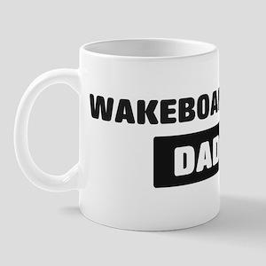 WAKEBOARDING Dad Mug