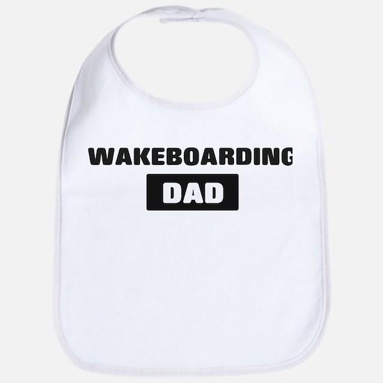 WAKEBOARDING Dad Bib