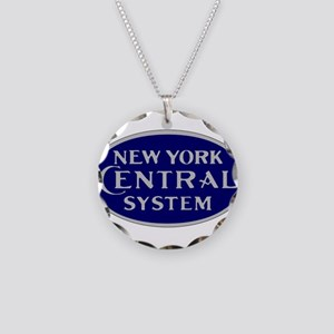 New York Central System logo Necklace Circle Charm
