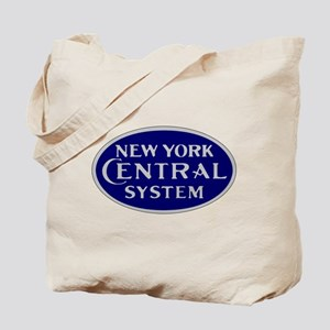 New York Central System logo - blue Tote Bag