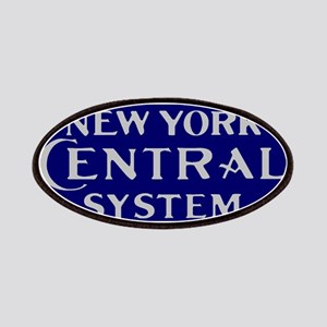 New York Central System logo - blue Patch