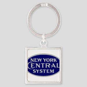 New York Central System logo - blue Keychains