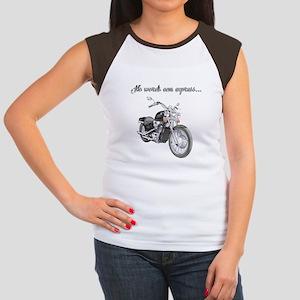 No Words Women's Cap Sleeve T-Shirt
