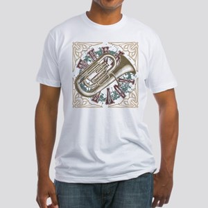 TUBA LOVE Fitted T-Shirt