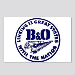 B&O Railroad Logo Postcards (Package of 8)
