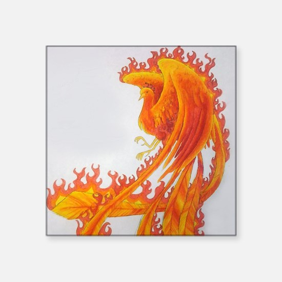Firey Phoenix Sticker