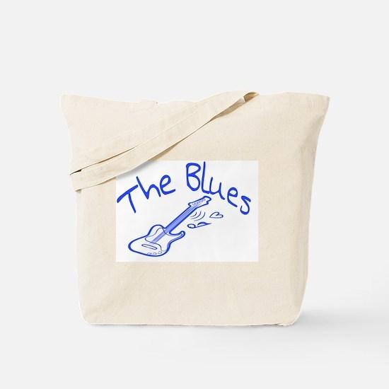 Unique Blues music Tote Bag