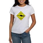 Bear and Tracks XING Women's T-Shirt