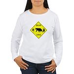 Bear and Tracks XING Women's Long Sleeve T-Shirt