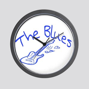 The Blues Wall Clock