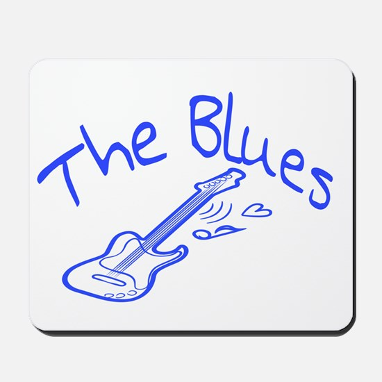 The Blues Mousepad