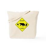 Bear and Tracks XING Tote Bag