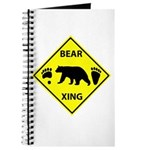 Bear and Tracks XING Journal