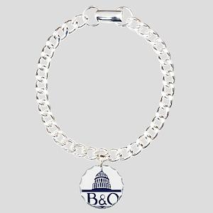 Baltimore & Ohio Railroa Charm Bracelet, One Charm