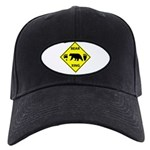 Bear and Tracks XING Black Cap