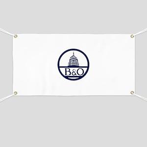 Baltimore & Ohio Railroad- Modern Banner